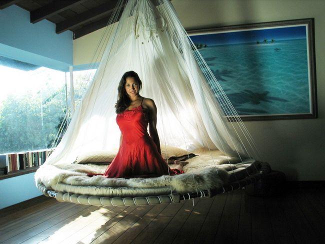 Кровать гамак фото - подборка (27)