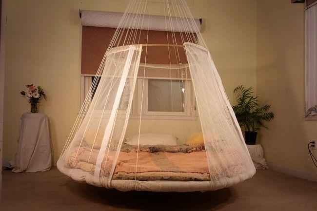 Кровать гамак фото - подборка (30)