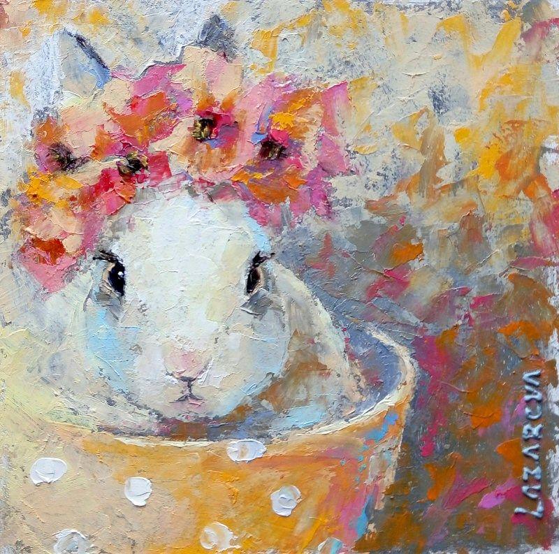 Кролик рисунок и картинки (10)