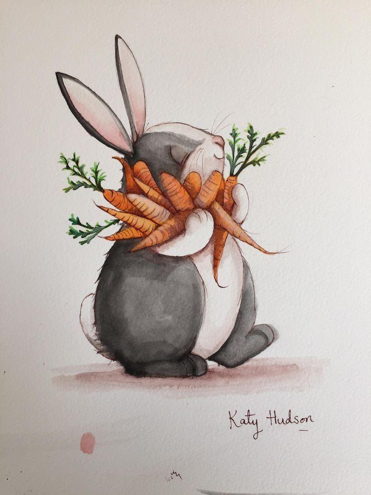 Кролик рисунок и картинки (19)