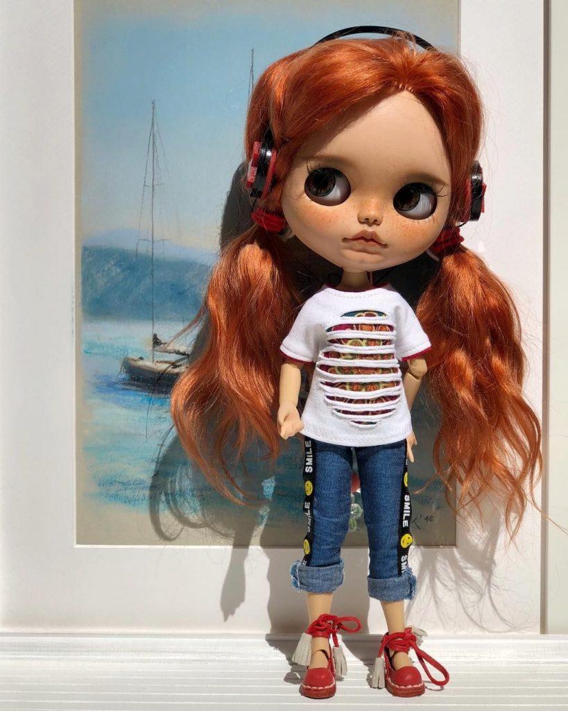 Кукла нарисованная картинка - подборка (10)