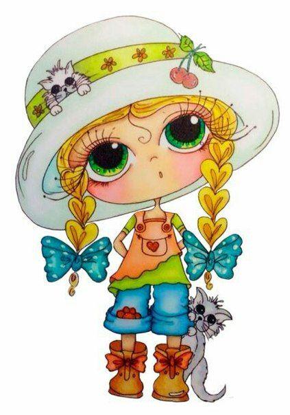 Кукла нарисованная картинка - подборка (2)