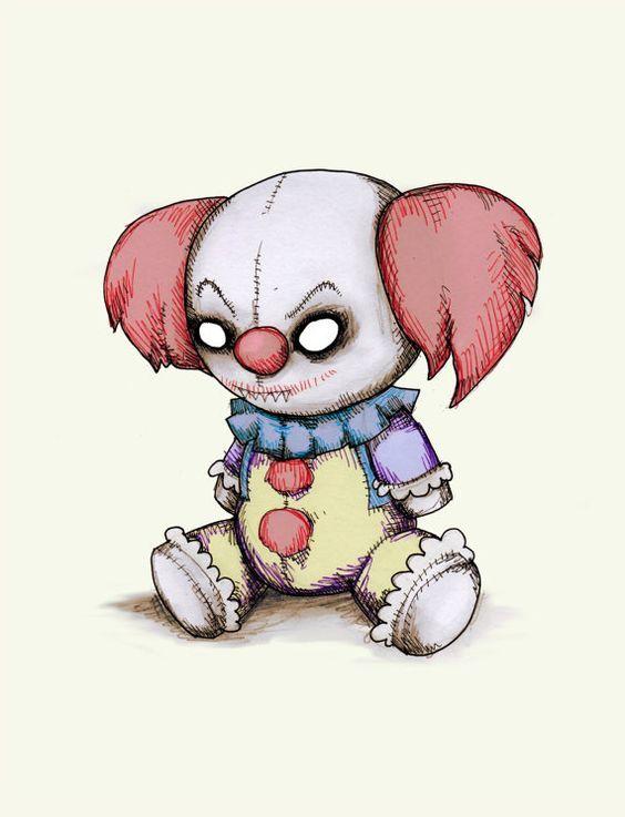 Кукла нарисованная картинка - подборка (5)