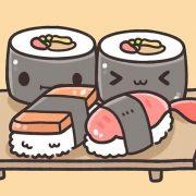 Милые картинки еды с глазками карандашом   подборка (20)