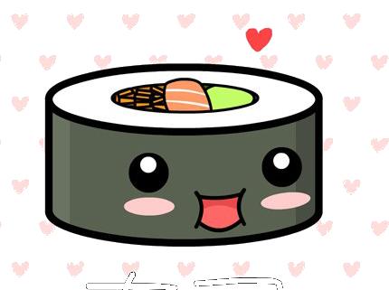 Милые картинки еды с глазками карандашом - подборка (3)