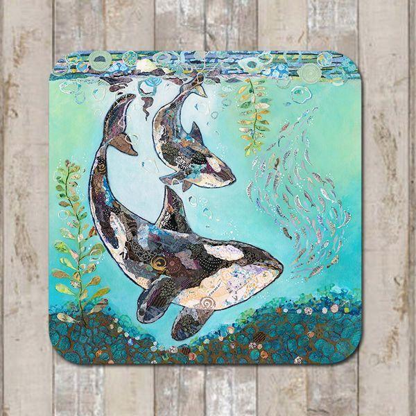 Мультяшные киты - прикольные арты (1)