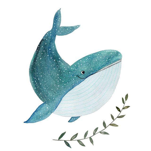 Мультяшные киты - прикольные арты (6)
