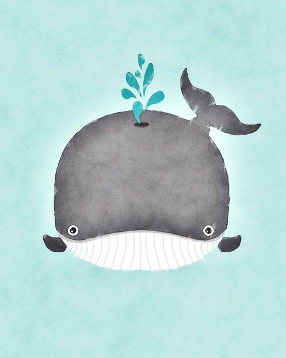 Мультяшные киты - прикольные арты (7)