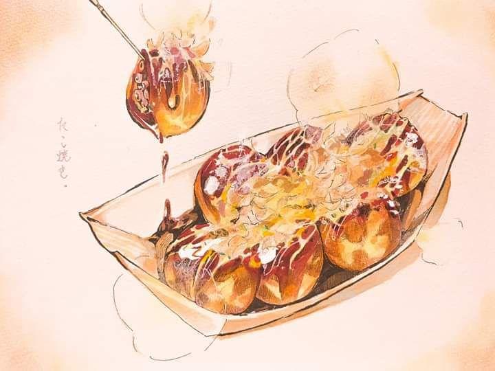 Нарисованные картинки еда и напитки (22)