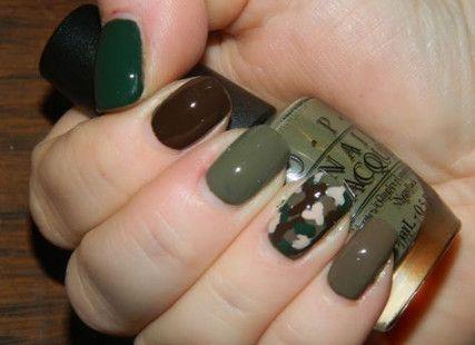 Ногти военные - красивые фото и идеи (11)