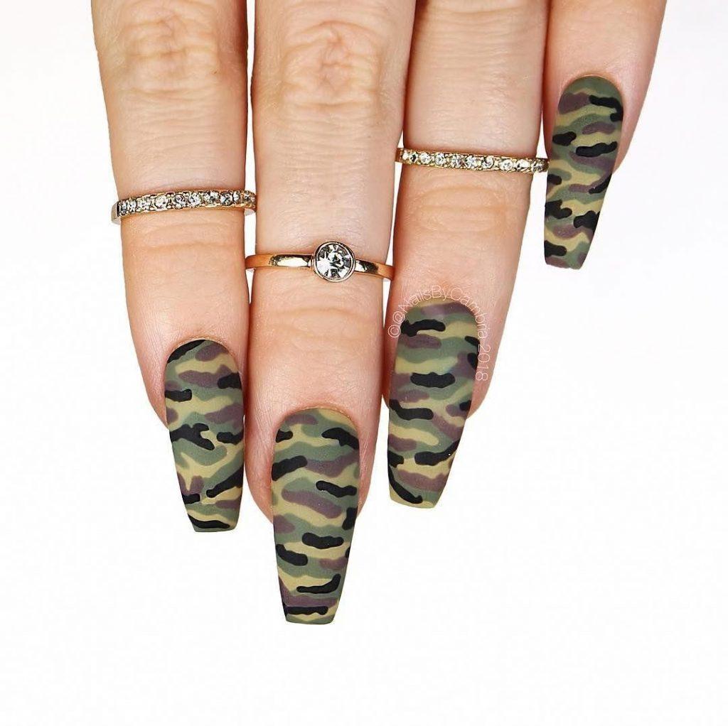 Ногти военные - красивые фото и идеи (13)