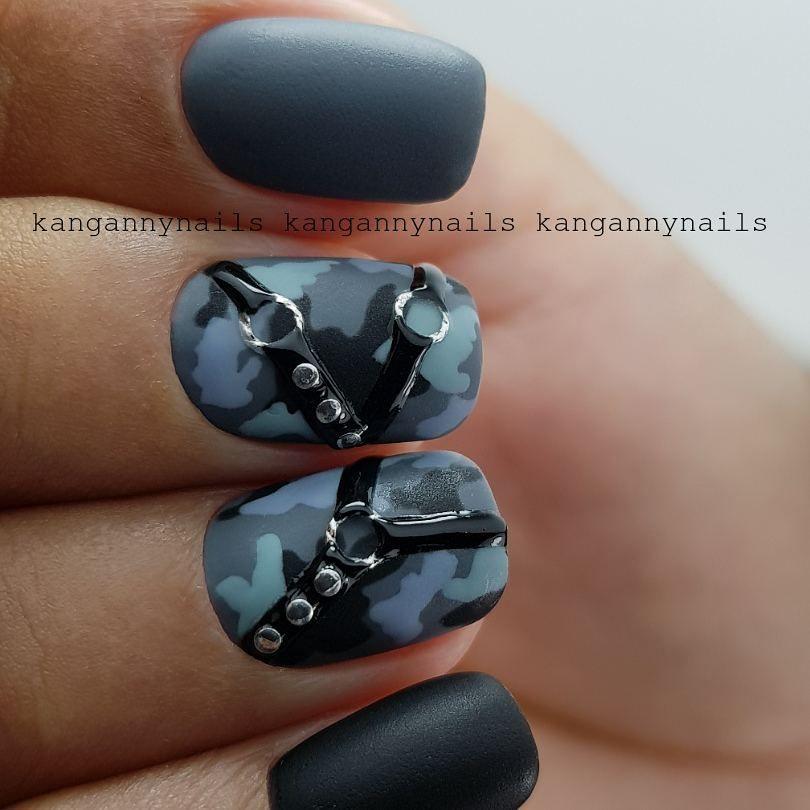 Ногти военные - красивые фото и идеи (16)