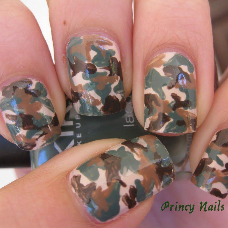 Ногти военные - красивые фото и идеи (17)
