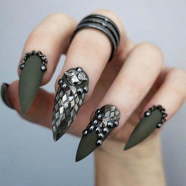 Ногти военные - красивые фото и идеи (2)