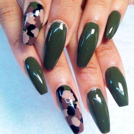 Ногти военные - красивые фото и идеи (4)