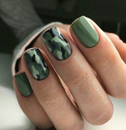 Ногти военные - красивые фото и идеи (6)