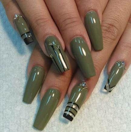 Ногти военные - красивые фото и идеи (8)