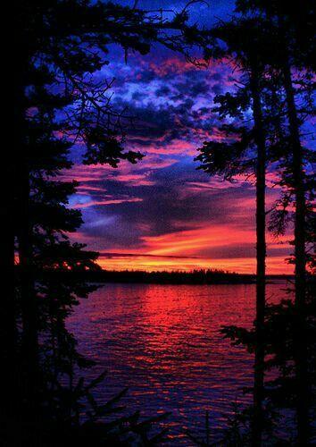Ночь закат красивые фотографии - подборка (17)