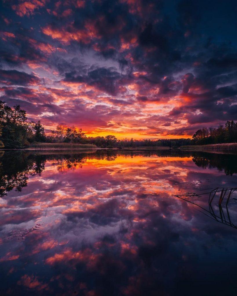 Ночь закат красивые фотографии - подборка (2)