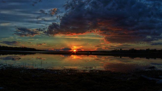 Ночь закат красивые фотографии - подборка (21)