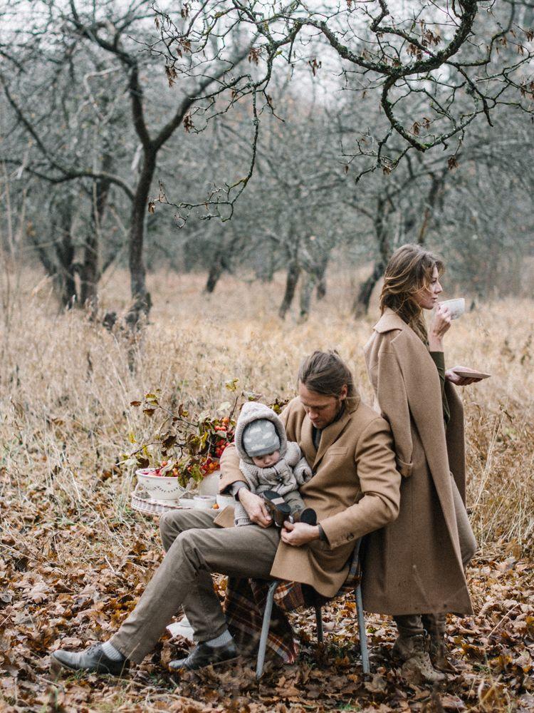 Осенняя семейная фотосессия на природе идеи и фото (1)