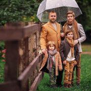 Осенняя семейная фотосессия на природе идеи и фото (2)