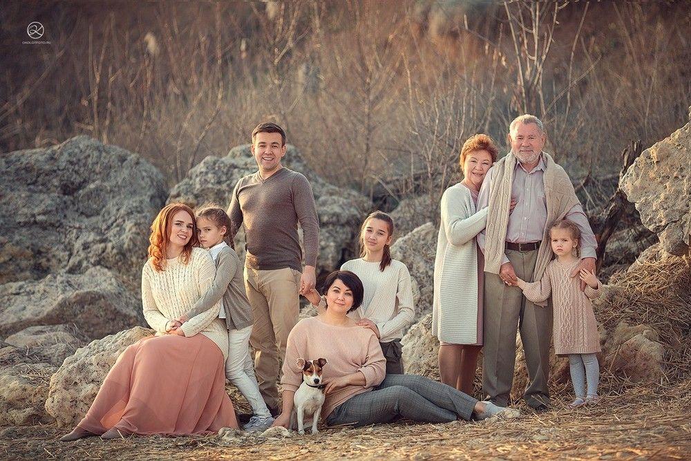 Осенняя семейная фотосессия на природе идеи и фото (3)