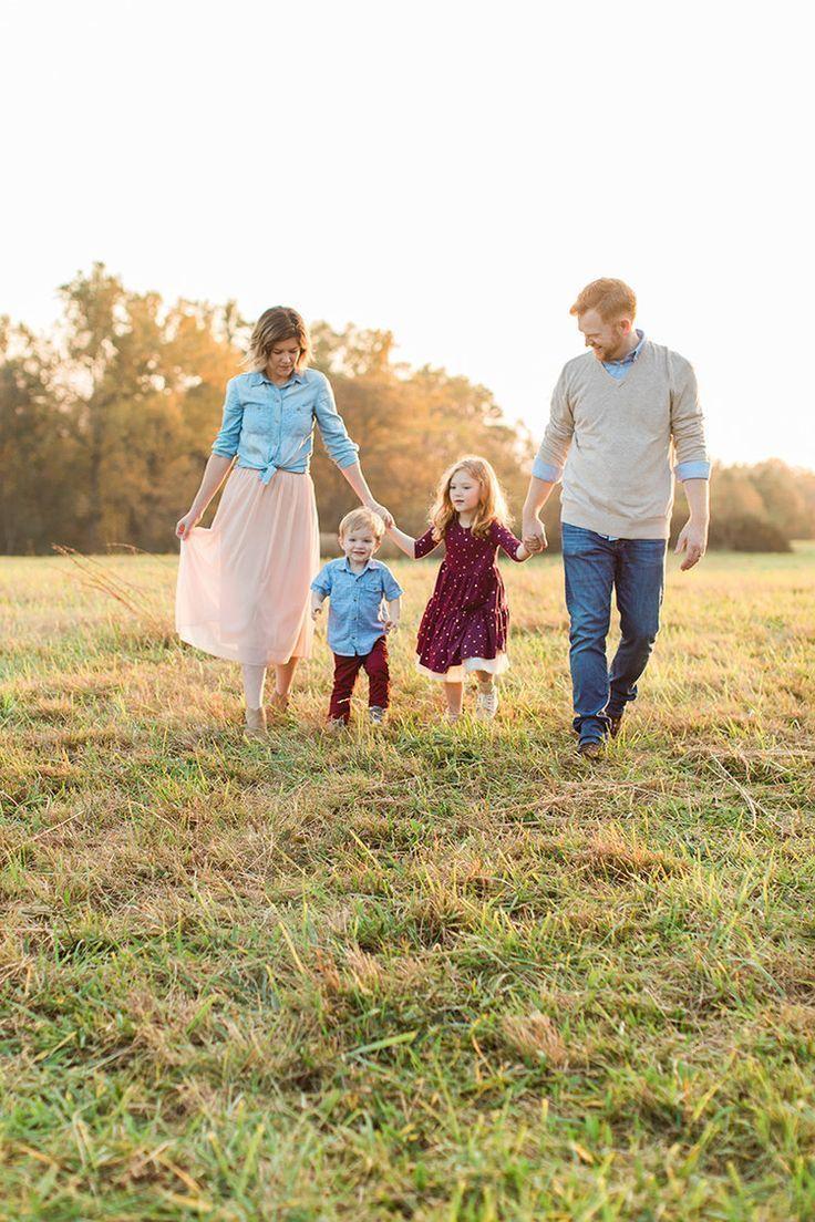 Осенняя семейная фотосессия на природе идеи и фото (4)