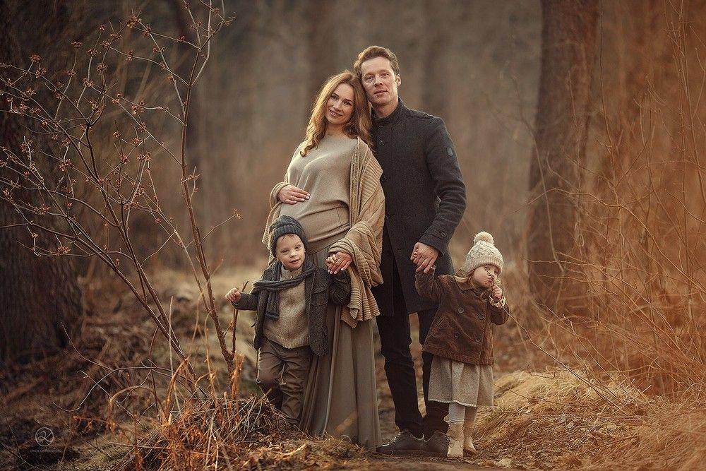 Осенняя семейная фотосессия на природе идеи и фото (5)