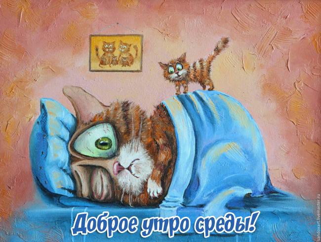 Позитивные картинки для поднятия настроения с добрым утром (12)