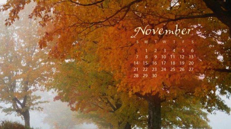 Прикольные и красивые картинки про Ноябрь (12)