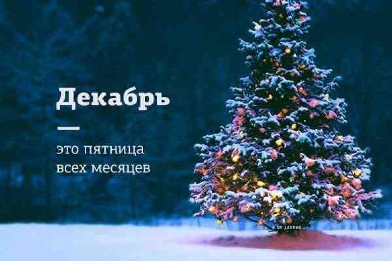 Прикольные и красивые картинки про декабрь (10)