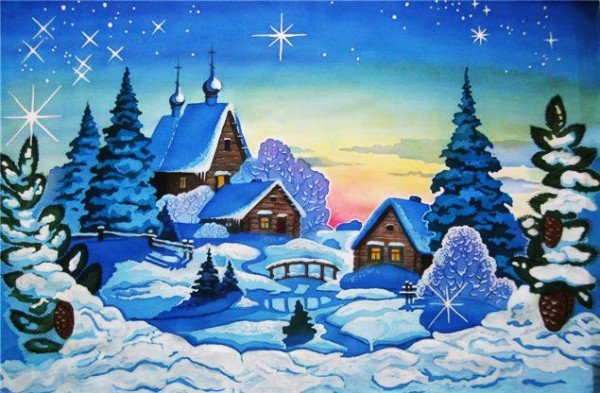 Прикольные картинки про зиму для взрослых и детей (11)