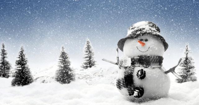 Прикольные картинки про зиму для взрослых и детей (19)