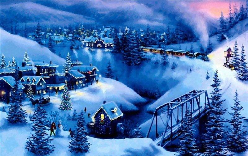 Прикольные картинки про зиму для взрослых и детей (2)