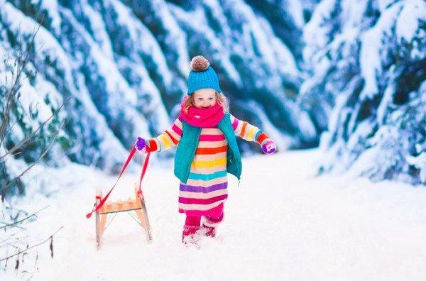 Прикольные картинки про зиму для взрослых и детей (29)