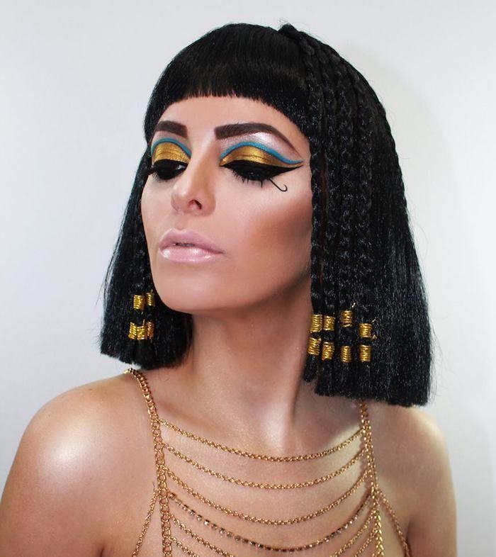 Прическа как у Клеопатры   фото идеи (11)