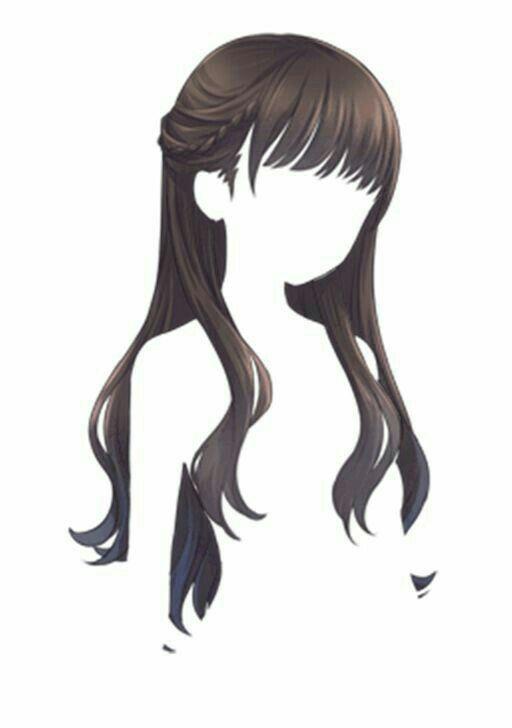 Прически аниме рисуем картинки (17)