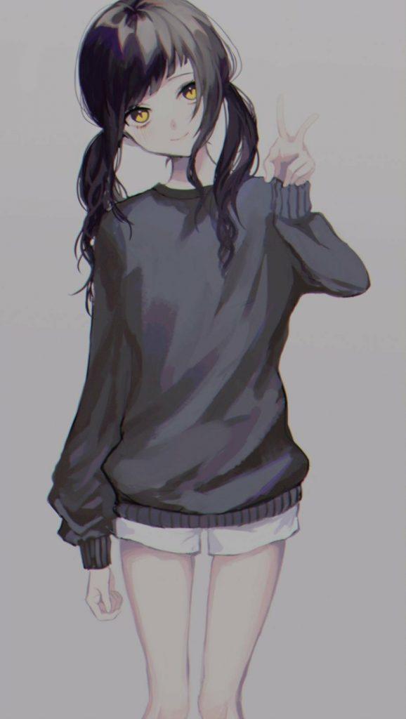 Прически аниме рисуем картинки (4)
