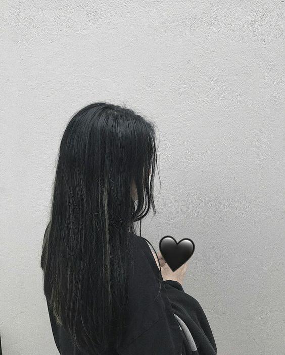 Черные картинки девушек без лица