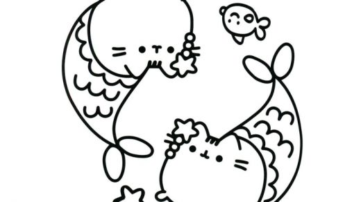 Раскраска Пушин Кэт   подборка (2)