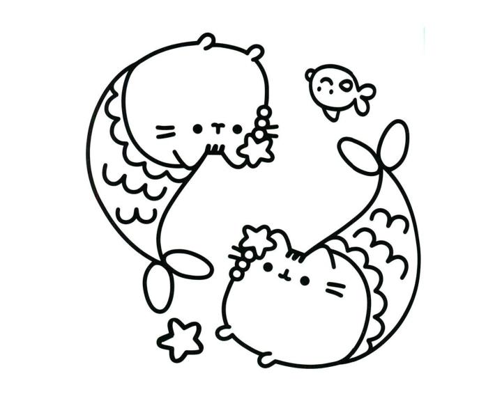 Раскраска Пушин Кэт - подборка (2)