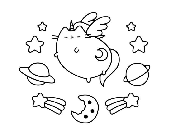 Раскраска Пушин Кэт - подборка (5)