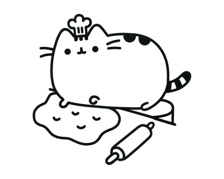 Раскраска Пушин Кэт - подборка (6)