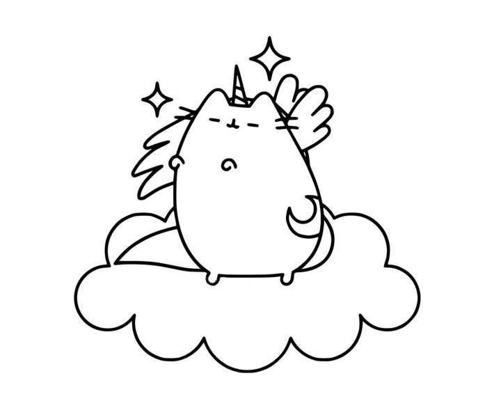 Раскраска Пушин Кэт - подборка (8)