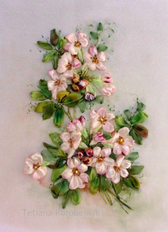 Роза красотка из шелка - подборка фото (12)