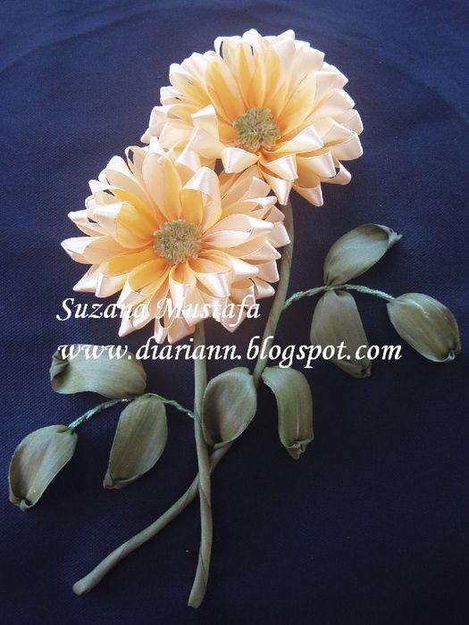 Роза красотка из шелка - подборка фото (13)