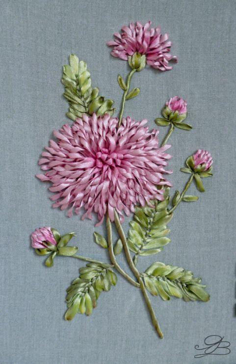 Роза красотка из шелка - подборка фото (4)