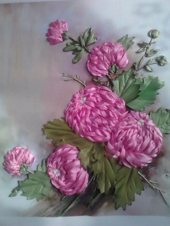 Роза красотка из шелка - подборка фото (6)