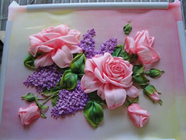 Роза красотка из шелка - подборка фото (7)
